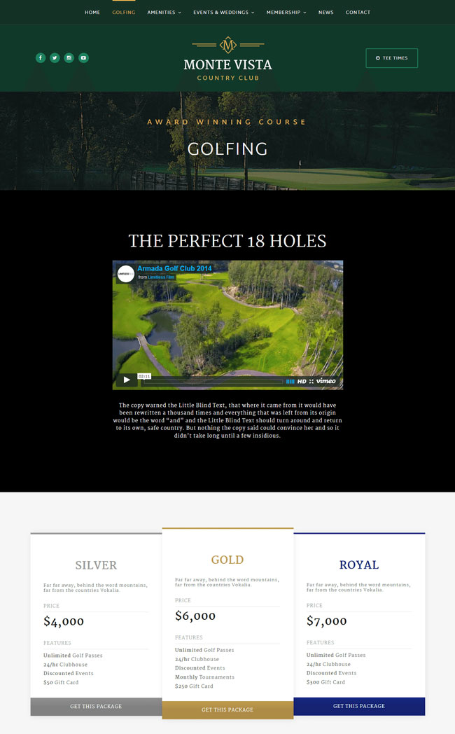 monte-vista-country-club-golf-course-wordpress-theme