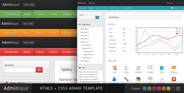 adminique-admin-template
