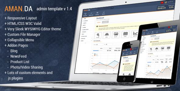 amanda-responsive-admin-template