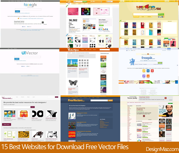 15 Best Websites for Download Free Vector Files