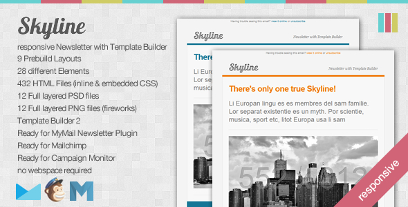 skyline-responsive-newsletter-with-template-builder