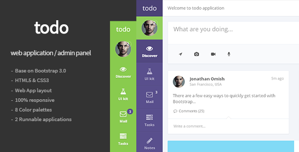 todo-web-application-and-admin-panel-template