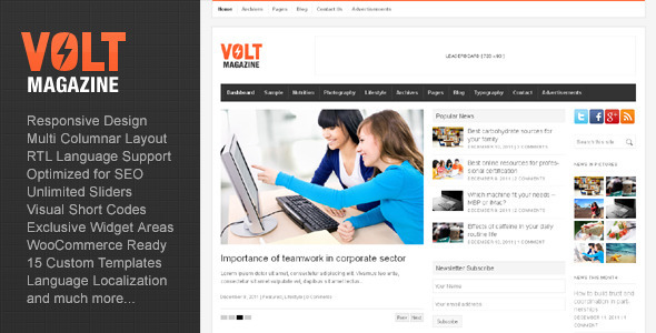 volt-magazine-editorial-wordpress-theme