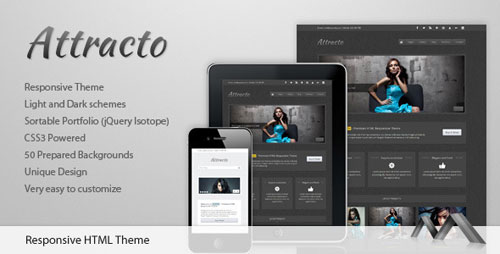 Attracto – HTML Responsive Theme