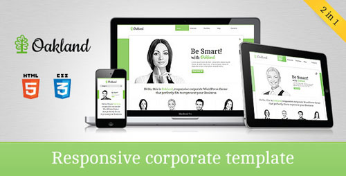 Oakland Responsive Corporate HTML5 Template