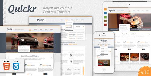 Quickr Responsive HTML 5 Premium Template