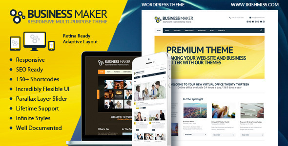 business-maker-retina-ready-corporate-wp-theme