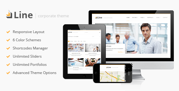 line-responsive-corporate-wordpress-theme