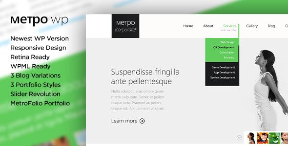 metpo-modern-responsive-retina-wordpress-theme