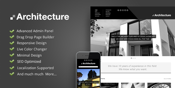 Architecture-Premium WordPress Theme
