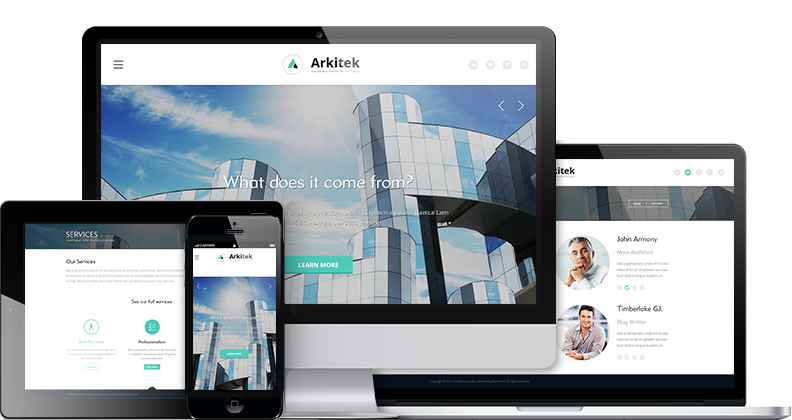 Arkitek - Interior Design WordPress Theme