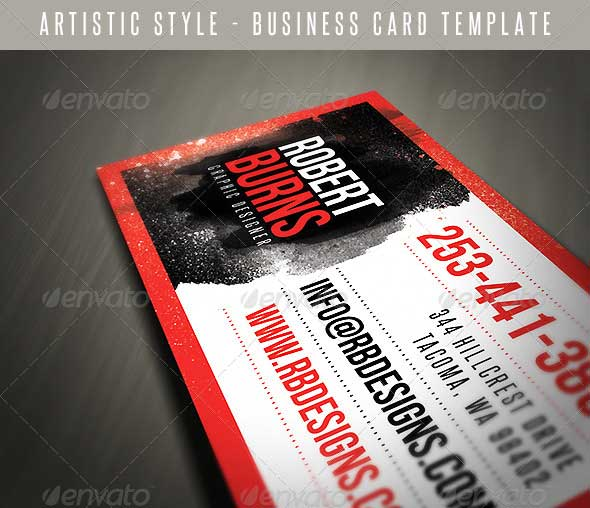 Artistic-Business-Card