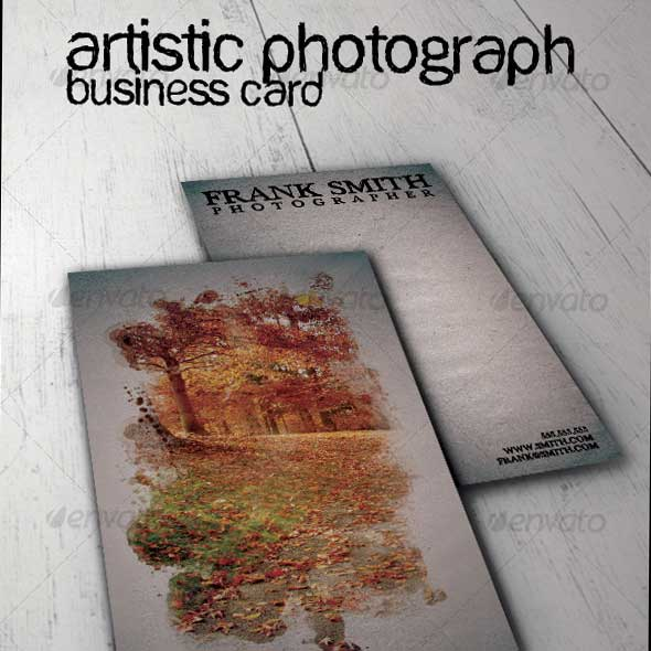 Artistic-Photograph-Business-Card