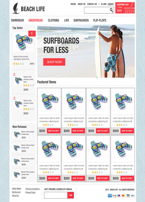 Beach-House-Ecommerce-Templates