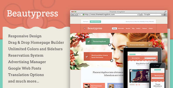 BeautyPress-Responsive WordPress Theme