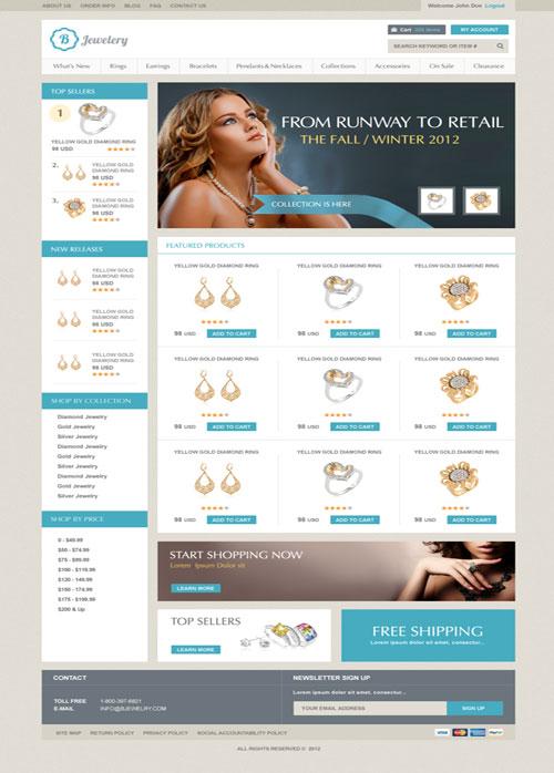 Bjewelry-Ecommerce-Templates