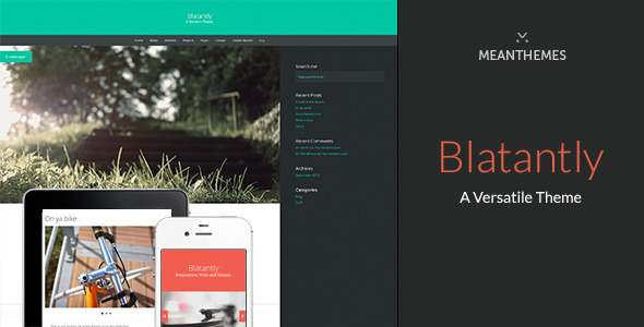 Blatantly-A Versatile Theme
