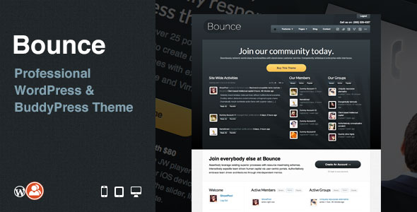 Bounce-Professional-WordPress-&-BuddyPress-Theme