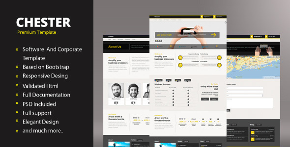 Chester - Software And Corporate Template