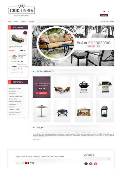 Chiclumber-Ecommerce-Templates