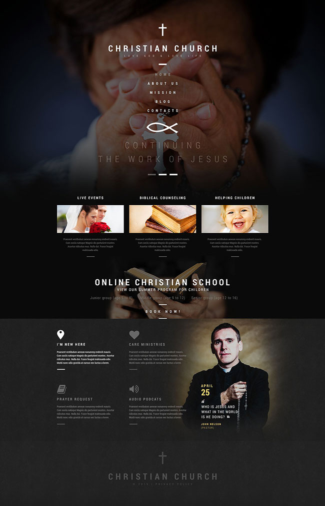 Christian-Church-WordPress-Theme