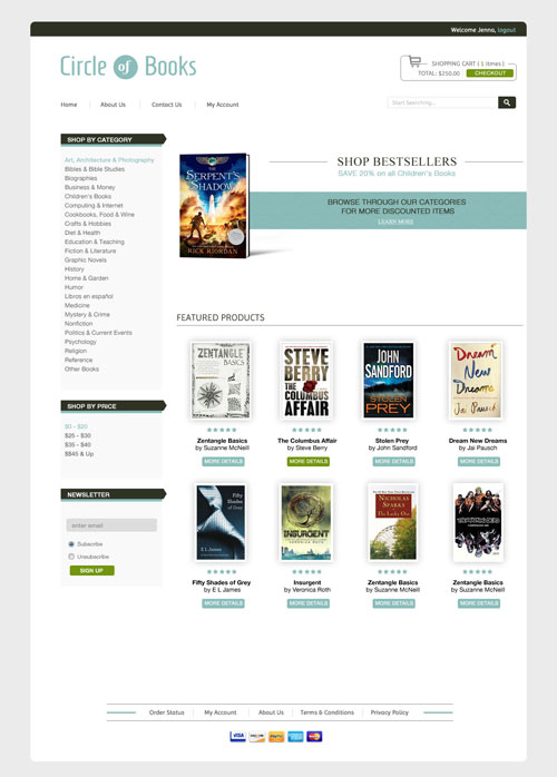 Circle-of-Books-Ecommerce-Templates