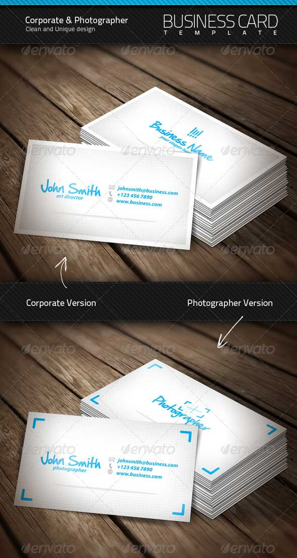 Clean-Corporate-Photographer-Business-Card