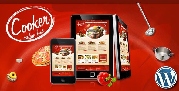 Cooker-Online Restaurant-Food Store