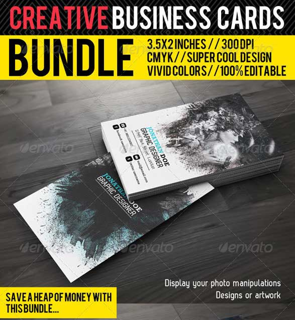 65 best business card for photographers 2016 designmaz creative business card premium bundle reheart Images