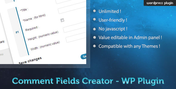 Custom-Comment-Field-Creator---WP-Plugin