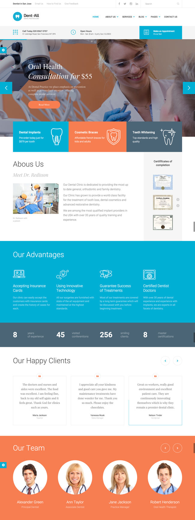 Dent-All-Dental-Practice-WordPress-Theme