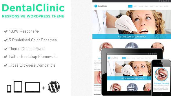 DentalClinic Responsive WordPress Theme