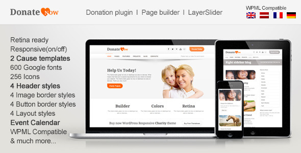DonateNow-WordPress Theme for Charity