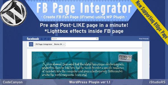FB Page Integrator