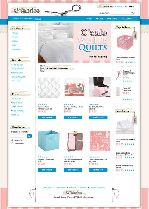 Fabrics-Ecommerce-Templates