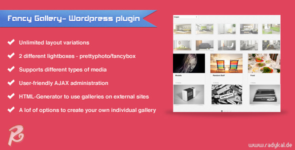 Fancy Gallery-Wordpress plugin