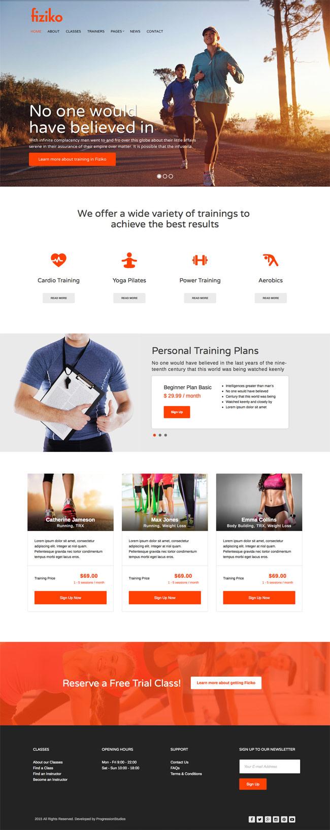 Fiziko-Fitness-GYM-WordPress-Theme