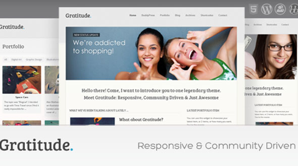 Gratitude-BuddyPress-&-Responsive-WordPress-Theme
