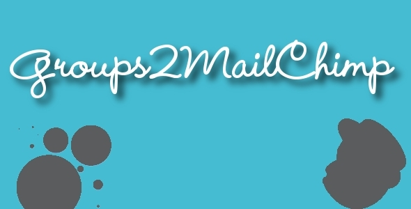 Groups2Mailchimp-Groups Mailchimp Integration