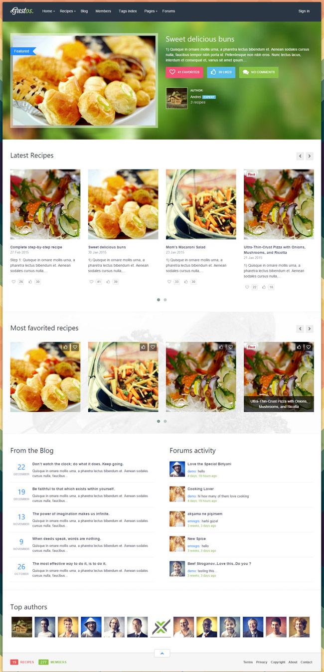 Gustos-Community-Driven-Recipes-WordPress-Theme