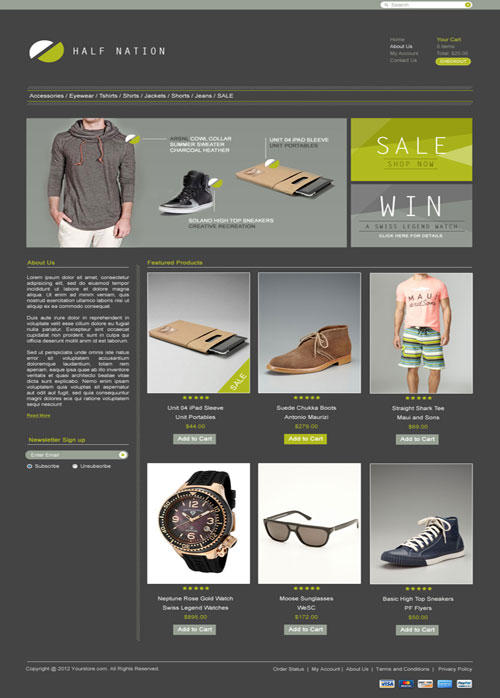Half-Nation-Ecommerce-Templates