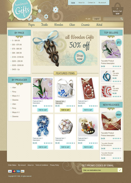 Handmade-Gifts-Ecommerce-Templates