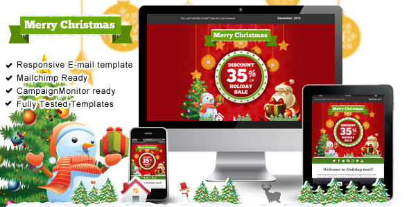 20 Best New Year Newsletter Templates 2014 Designmaz
