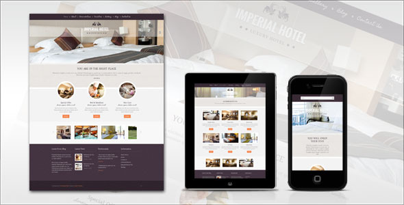 Imperial-Hotel WordPress Theme