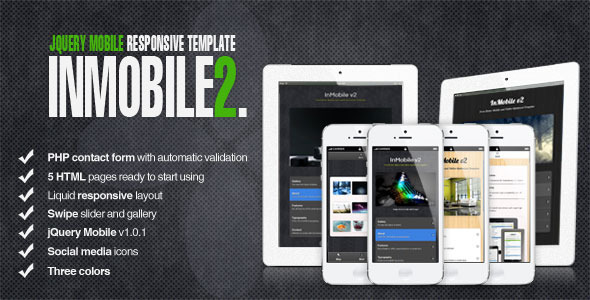 InMobile 2 - jQuery Mobile-Tablet- HTML5