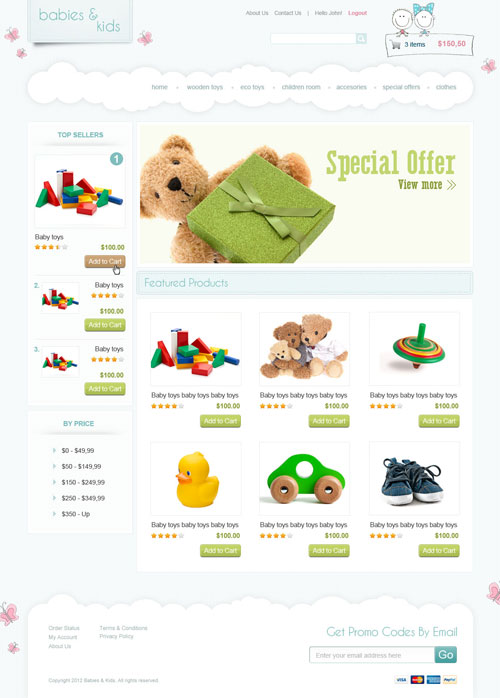 Kid-Connection-Ecommerce-Templates