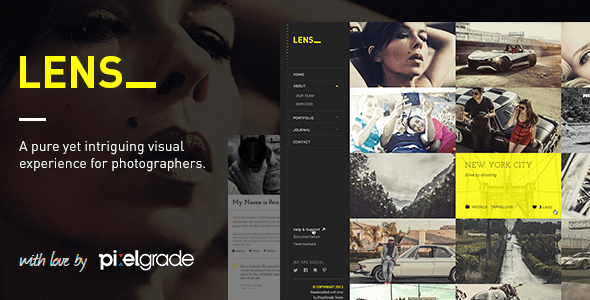 LENS-Photography WordPress Theme
