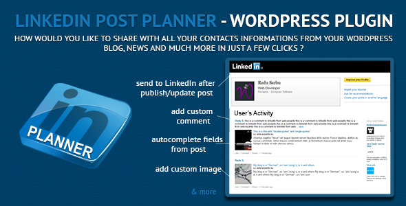 LinkedIn Post Planner Scheduler