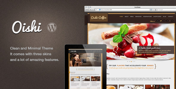 Oishi WordPress Theme