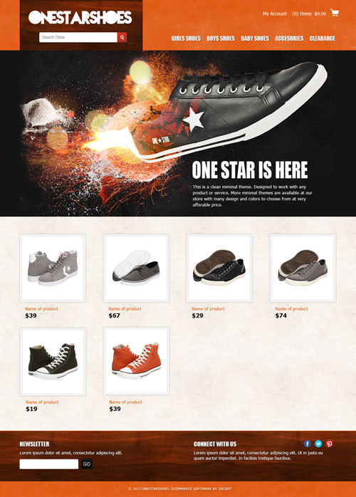 One-Star-Ecommerce-Templates